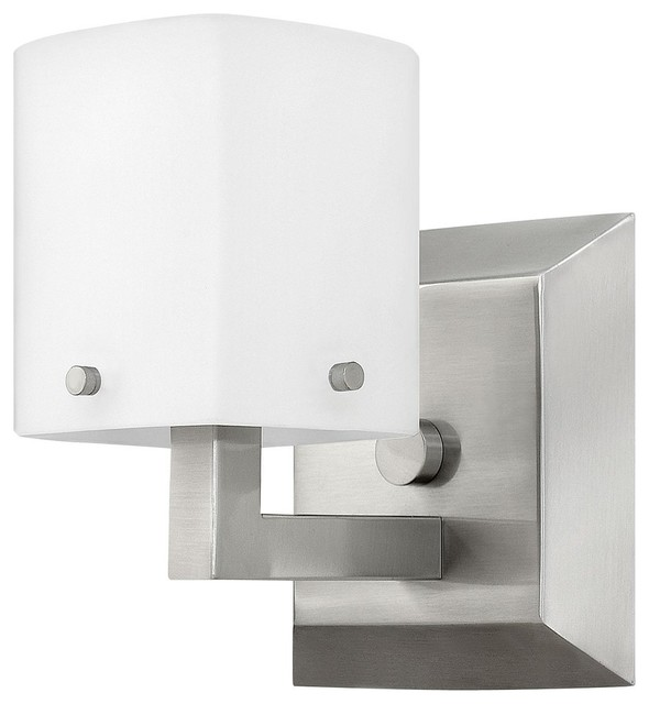 Halogen Bathroom Wall Sconces : 1-Light 5.25