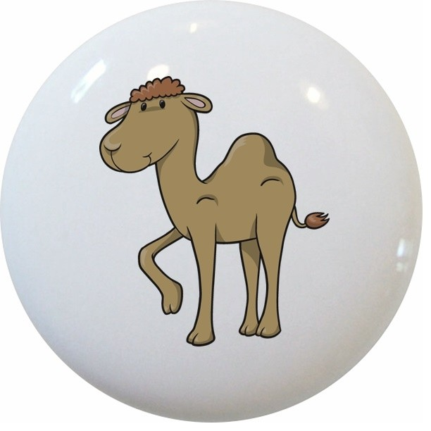 Baby Camel Ceramic Knob - Contemporary - Cabinet And Drawer Knobs - by Carolina Hardware and ...