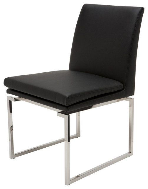 Savine Dining Chair By Nuevo Living Black Modern Dining Chairs By Dire