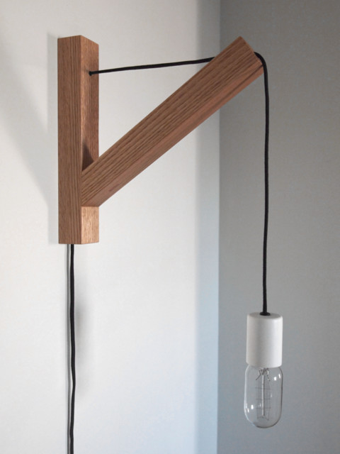bracket lamp by dino sanchez vitrine. Black Bedroom Furniture Sets. Home Design Ideas