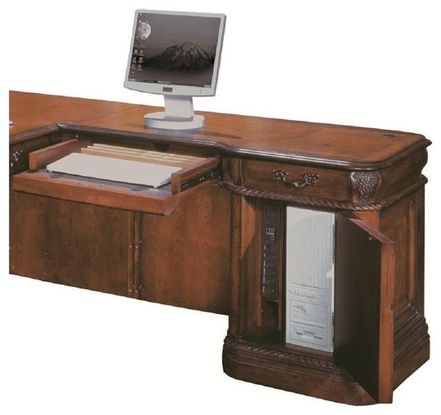 Aspenhome Napa Return Desk Cherry Traditional Desks