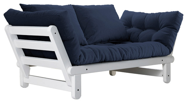 Amazing Futon In Blue And Black Cover Sectional Sofas With Navy