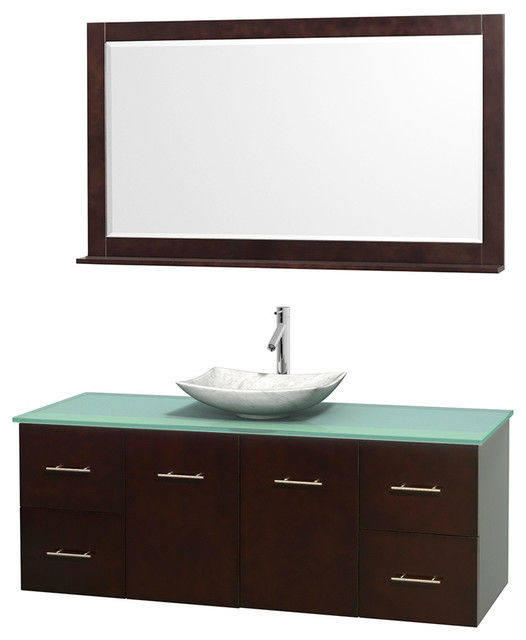 Glass Sink Unit : ... Sink - Contemporary - Bathroom Vanity Units & Sink Cabinets - by Bath