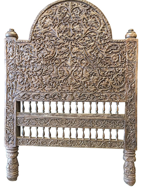 custom carved headboard 2