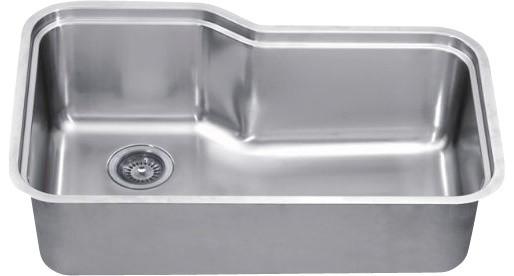 Dawn sinks single series stainless steel undermount sink - Kitchen sinks san diego ...