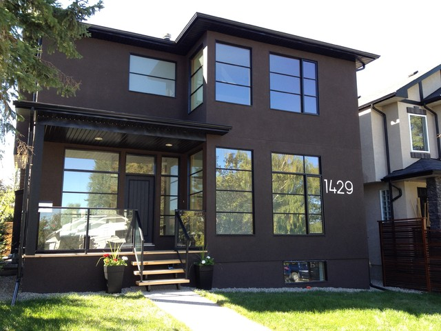 Modern house numbers modern house numbers calgary for Big modern house numbers