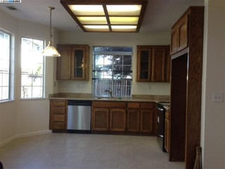 what should i paint inside of my kitchen cabinets