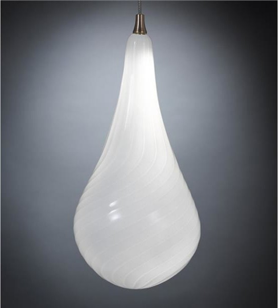Shablool Blown Glass Pendant Light Contemporary