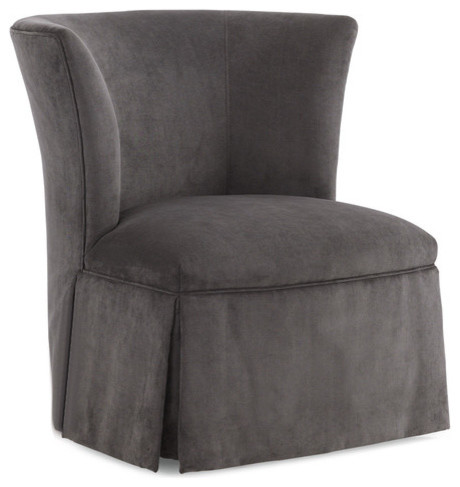 Max Sparrow Bayonne Swivel Chair Contemporary Armchairs And Accent Chai