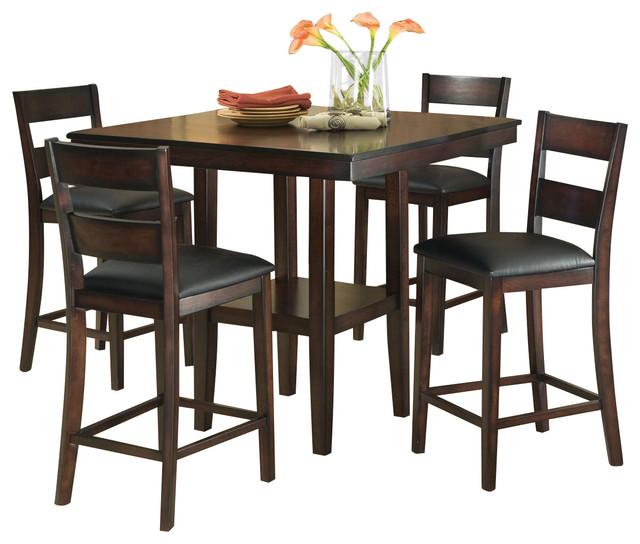 Standard Furniture Pendelton 5 Piece Counter Height Dining