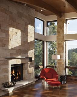 Renaissance rumford fireplace moderne chemin e for Chambre bebe denver