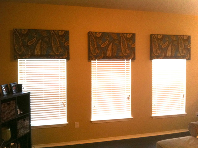 Top treatment ideas eclectic window treatments tampa for Best place for window treatments