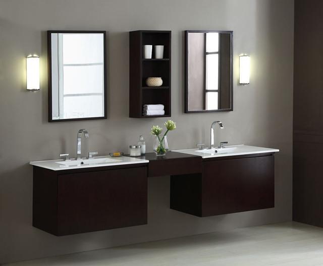 Floating bathroom vanities los angeles by vanities for bathrooms - Bathroom cabinets los angeles ...