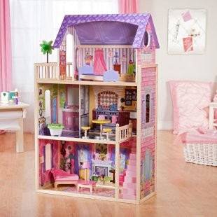 KidKraft Kayla Dollhouse - Contemporary - Kids Toys And Games - other ...