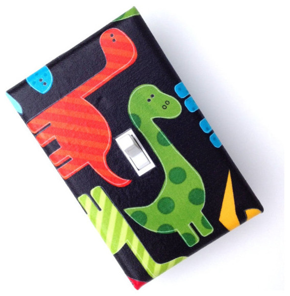 Dinosaur Light Switch Plate Cover By Slightly Smitten