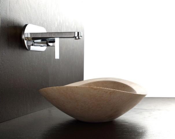 Modern Bathroom Basins : Nero - Galala Limestone Basin - Modern - Bathroom Basins - brisbane ...