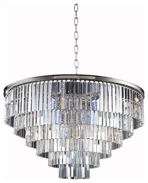 Sydney Polished Nickel Pendant Lamp