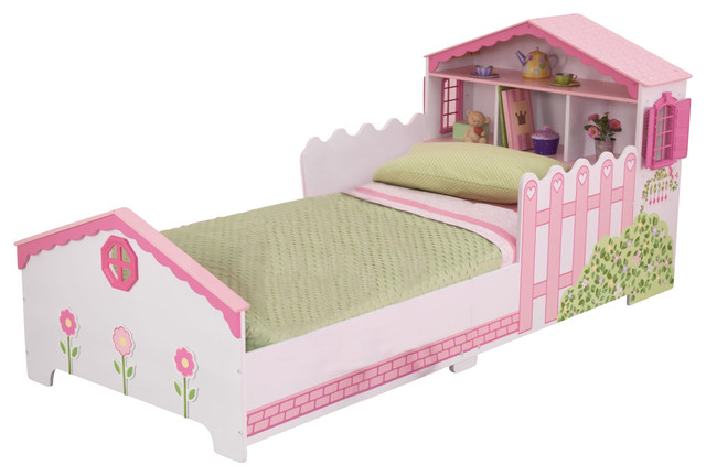 Dollhouse Toddler Bed By Kidkraft