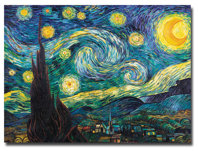 starry night by vincent van gogh 508 painting autos post. Black Bedroom Furniture Sets. Home Design Ideas