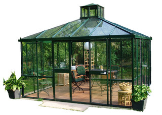 "German ""Teehaus"" Pavilion - Traditional - Gazebos - by Flora Hydroponics Inc"