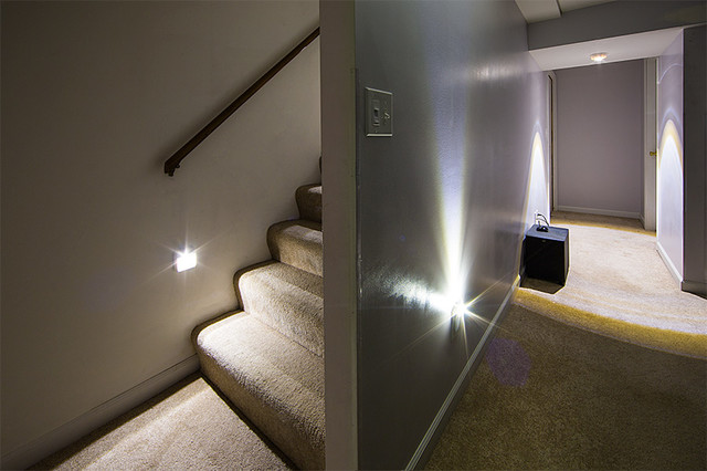 Lighting Basement Washroom Stairs: LED Staircase And Basement Lighting