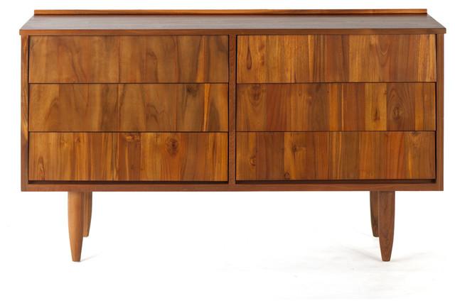Ronsan Dresser Solid Reclaimed Teak Wood Modern