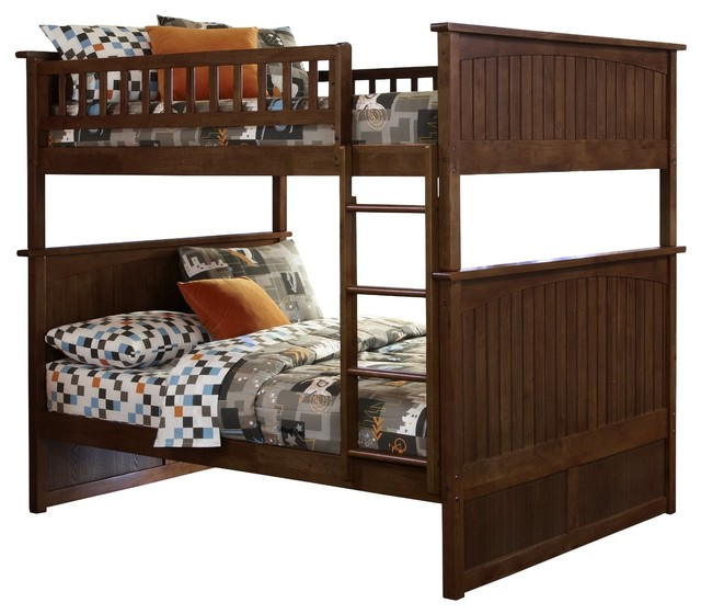 Atlantic Furniture Nantucket Full Over Full Bunk Bed Modern Bunk Beds By Amazon
