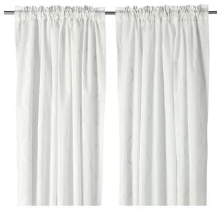 Hillmari bauhaus look gardinen vorhange von ikea for Ikea küchenlampen
