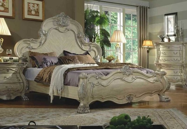 5 Piece White Bedroom Set