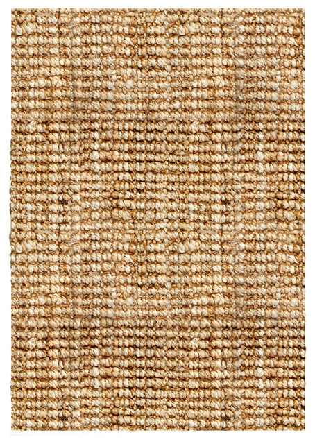 Handwoven sahara boucl weave jute rug contemporary for Decor international handwoven rugs