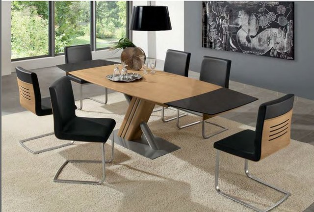 Lugano Dining Table Woessner Modern Dining Tables Miami By The Collec