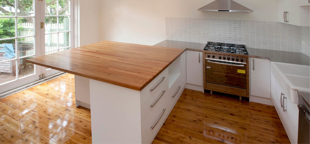 Kitchen cabinets modern sydney by the joinery for Sydney custom kitchens