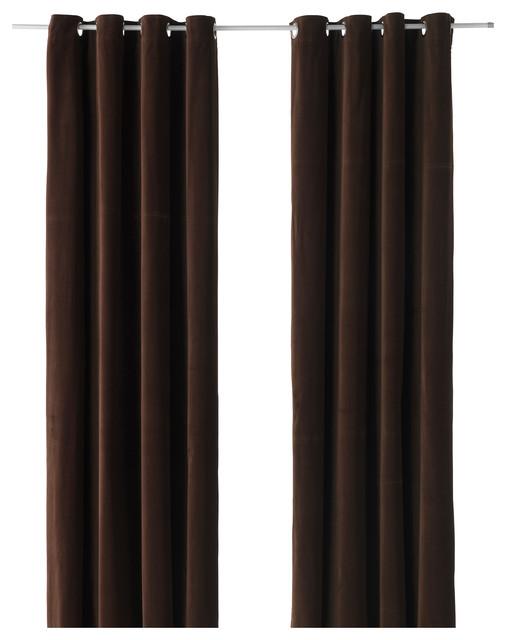 sanela bauhaus look gardinen vorh nge von ikea. Black Bedroom Furniture Sets. Home Design Ideas