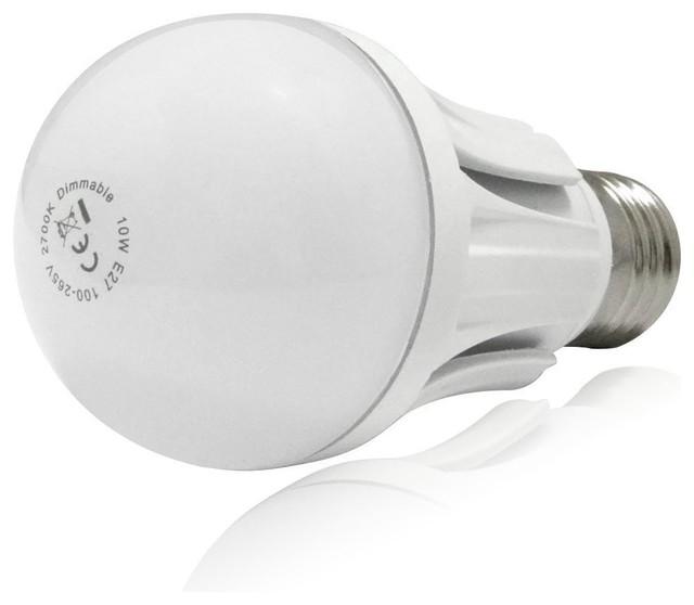 110v 10w dimmable a19 led light bulb 60w equivalent e26. Black Bedroom Furniture Sets. Home Design Ideas