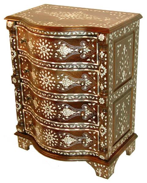 Aumueller 50 X 25 X 54 Cm Sewing Cabinet Beech Wood Colour Brown