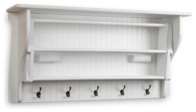 Accordion Drying Rack - Traditional - Display And Wall Shelves - by Danya B