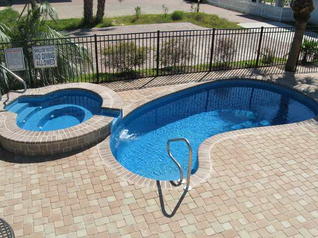 Free form style fiberglass swimming pool other by for Fiberglass pool manufacturers
