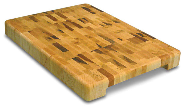 Contemporary End Grain Chopping Block Contemporary