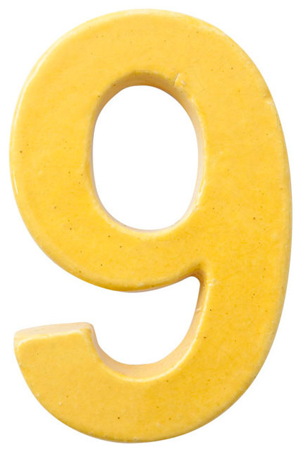 Terracotta house numbers letters country house for Exterior letters and numbers