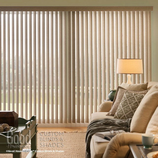 Good Housekeeping Cordless Vertical Blinds Contemporary