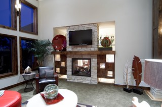 Showcase Home Eclectic Omaha By Advanced House Plans