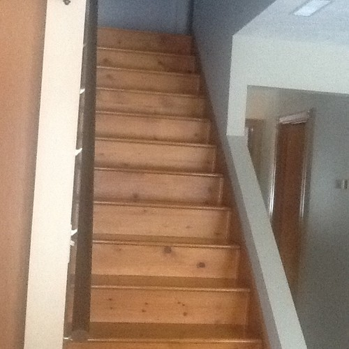 Looking For Ideas For Stairway Railing On Short Wall