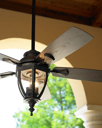 """Baltic"" Patio Fan Traditional Ceiling Fans by Horchow"