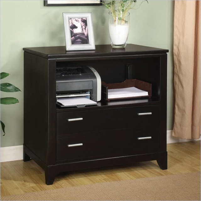 Wynwood Palisade Printer Filing Cabinet in Dark Sable ...