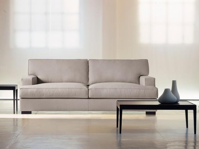 Formsch nes schlichtes sofa hs ambrogio moderne klassik - Moderne couchgarnituren ...