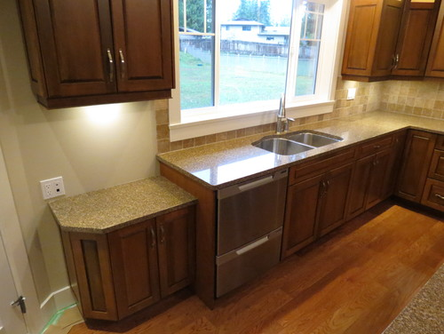 What is the tile backsplash and where can I find it?