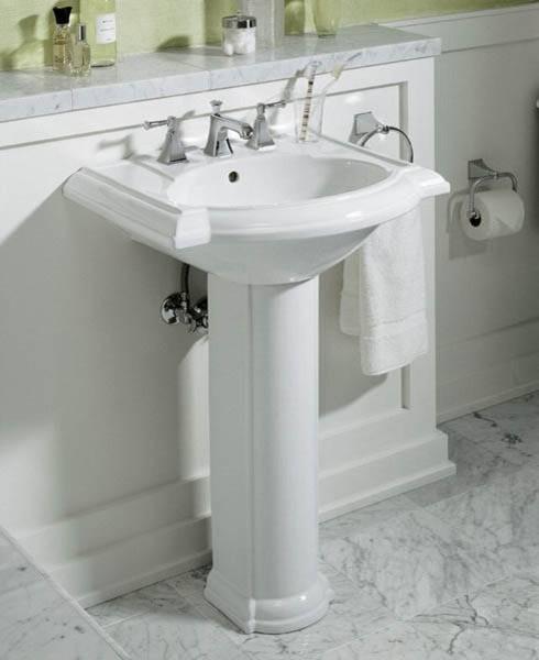 Devonshire Pedestal Sink - Traditional - Bathroom Sinks ...