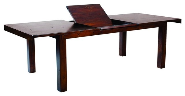 Wood Extendable Dinning Table Jamaican Sunset Rustic Dining Tables