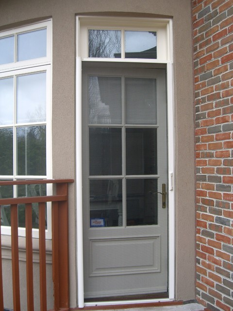 Entry Door Retractable Screens Contemporary Screen
