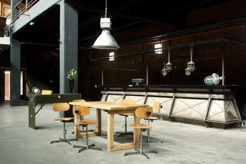 industrial interior set by works berlin